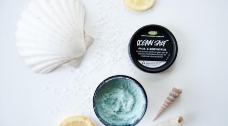 review lush ocean salt scrub