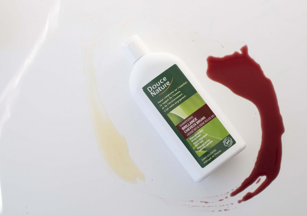 douce nature shine shampoo review brown hair henna_1