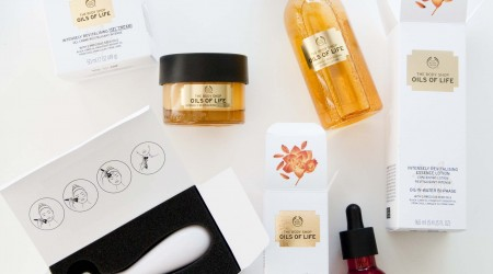 review the body shop Oils of life