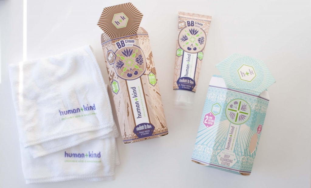 human+kind bb cream wipes review