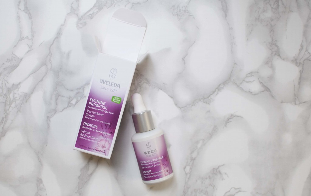review weleda evening primrose serum verstevigend