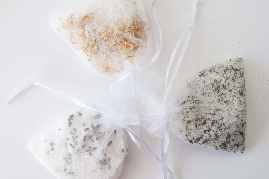 diy tub tea bath salts