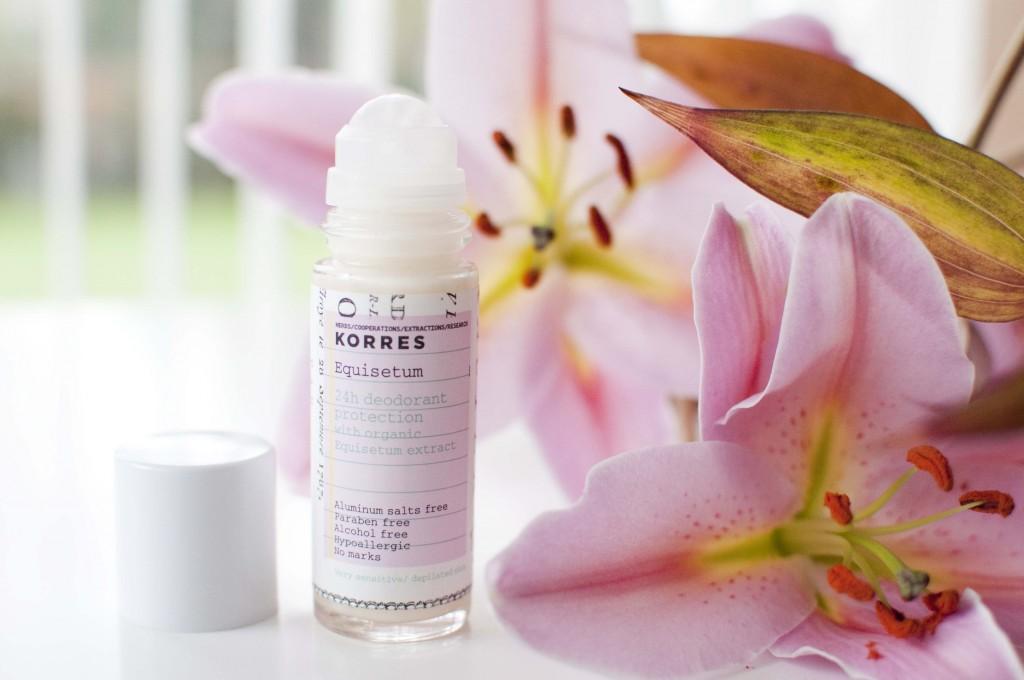 review korres equisitum deodorant