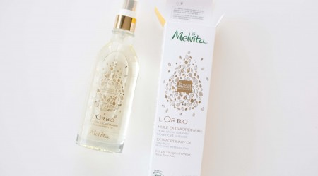 review melvita l'or bio huile
