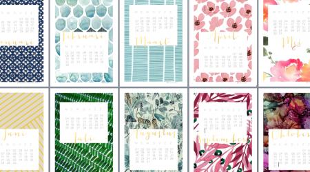 kalender 2016 gratis print freebie