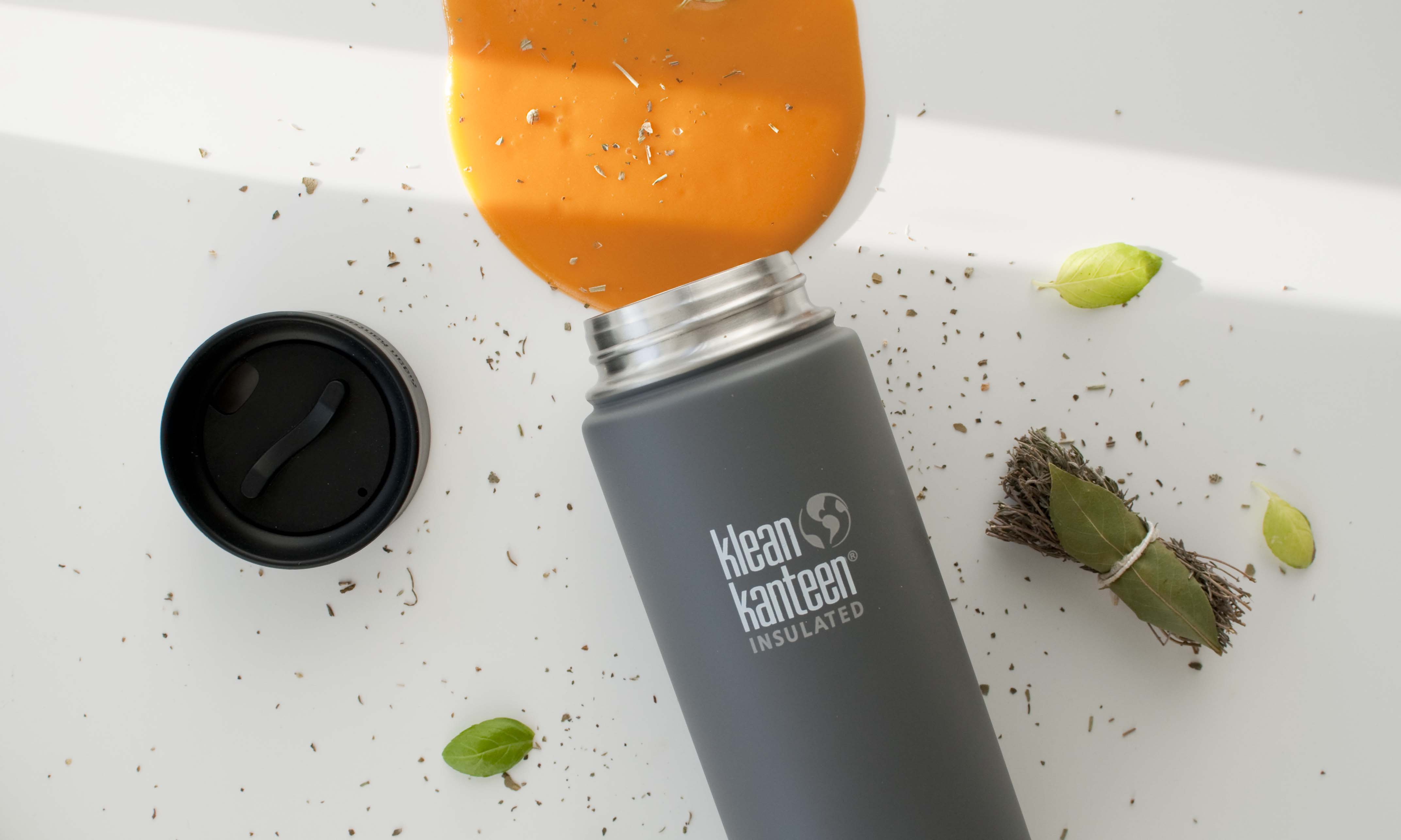 review klean kanteen insulated thermos