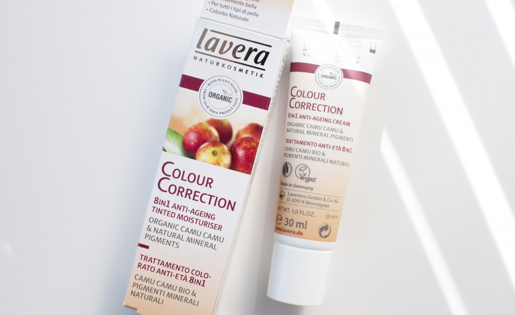 review lavera CC cream colour correction