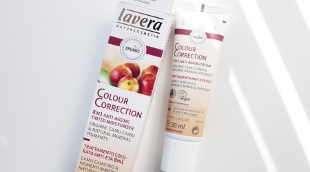 review lavera CC cream colour correction