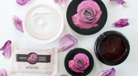 review the body shop english rose