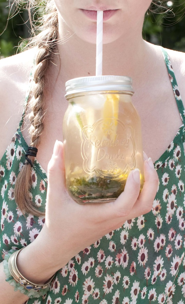 diy iced tea natural summer cold ice_2