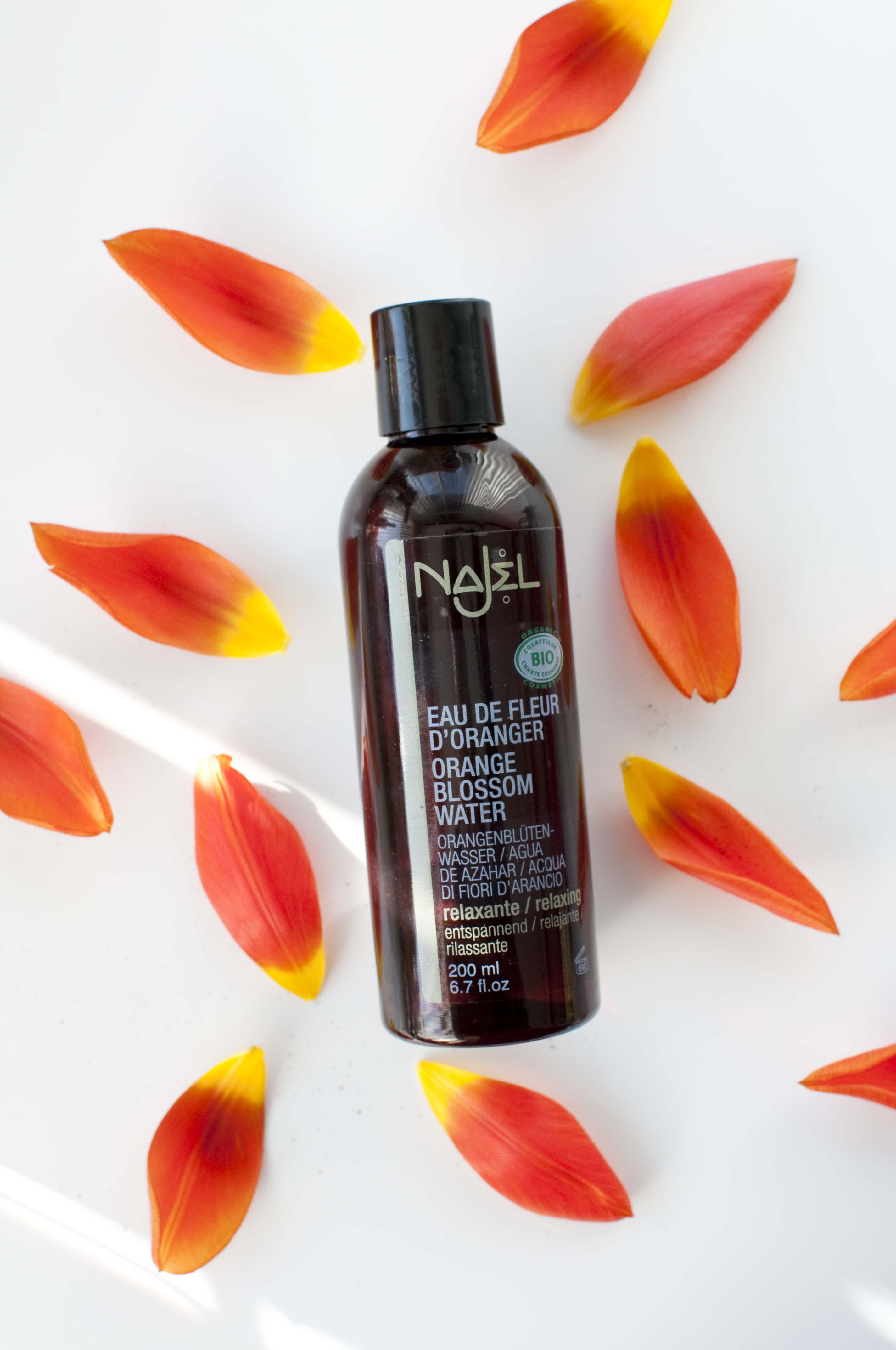 review Najel orange blossom water