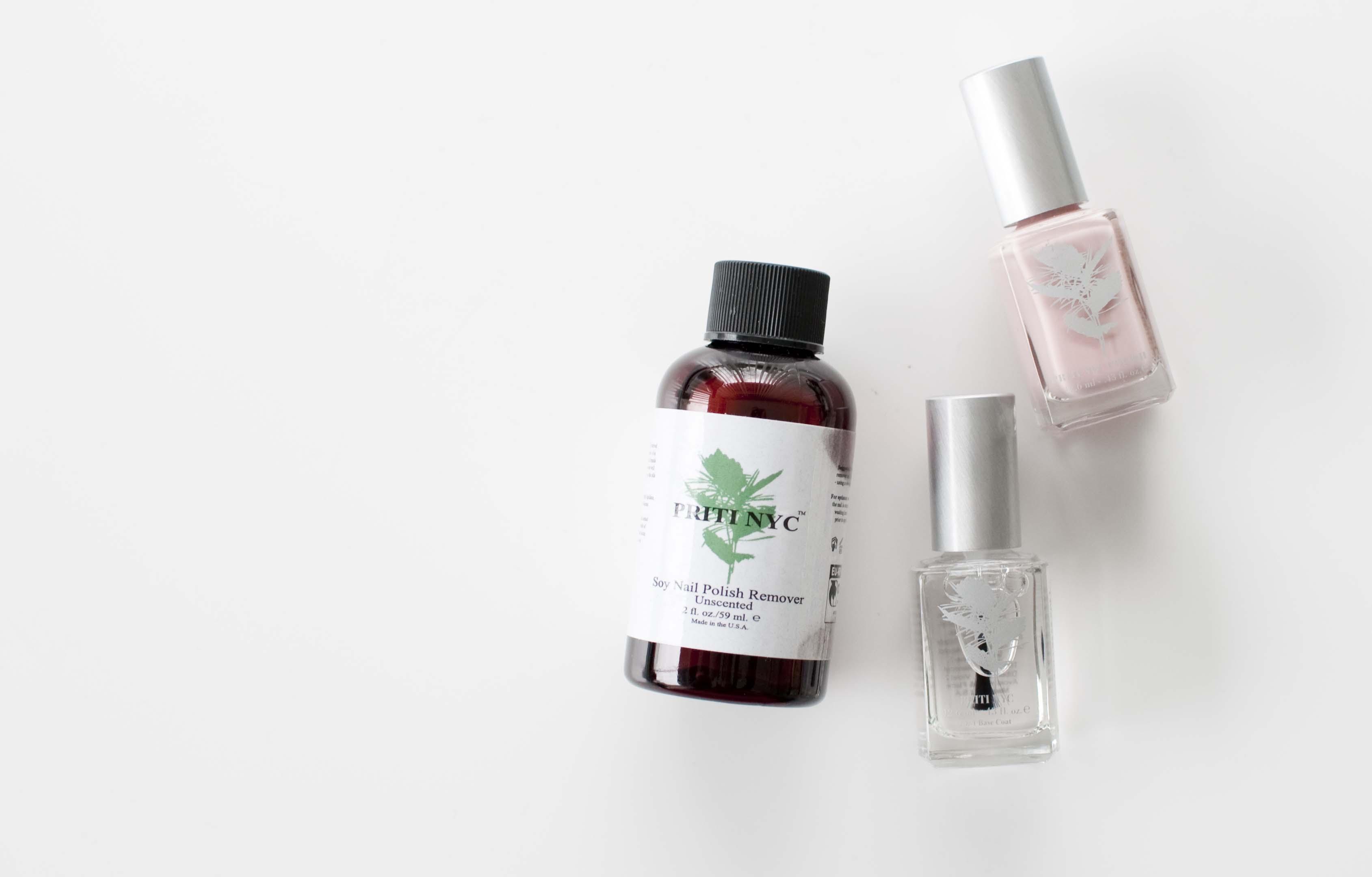 review priti NYC nail polish nagellak natuurlijk remover
