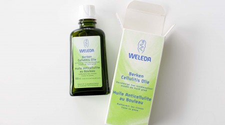 review weleda berken cellulitis olie
