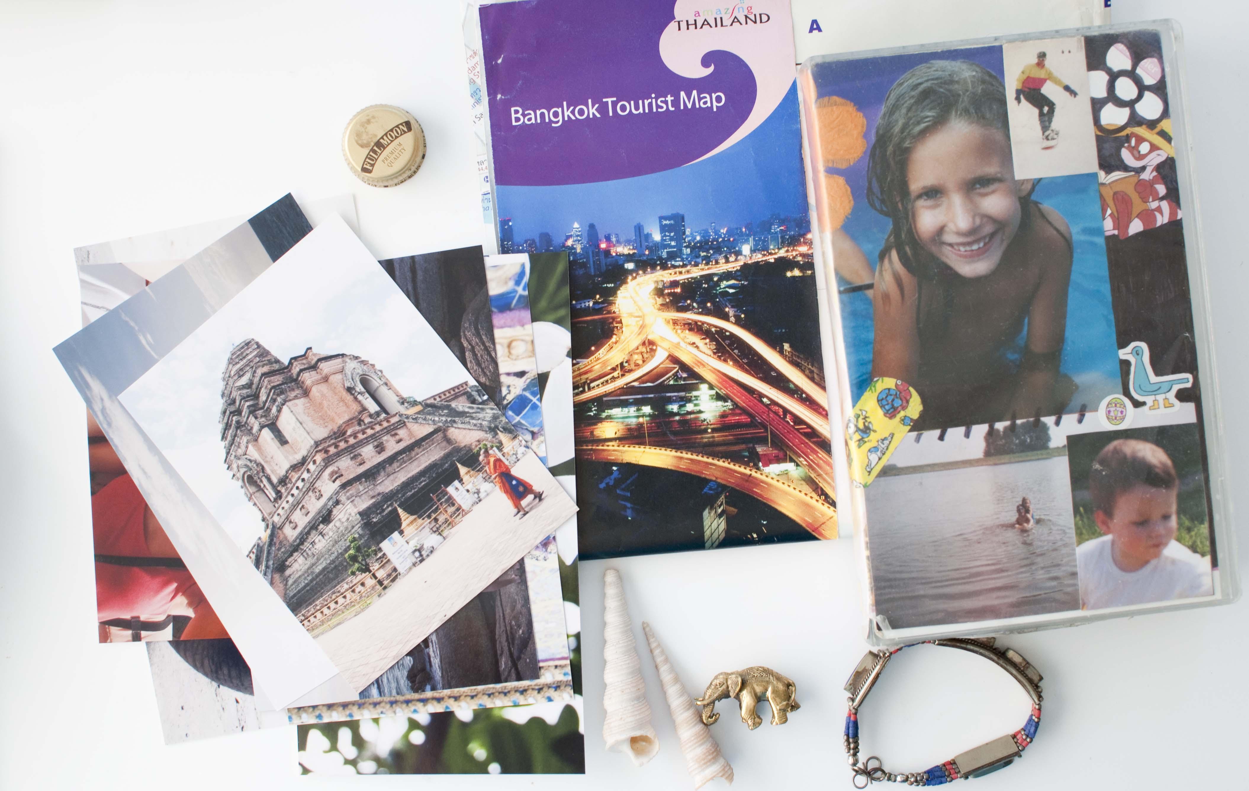 diy keeping travel memories