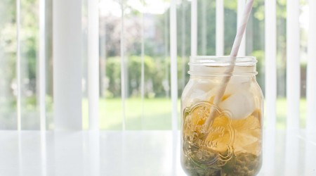 diy iced tea natural summer cold ice