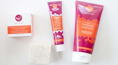 review bee nature shampoo soap hand