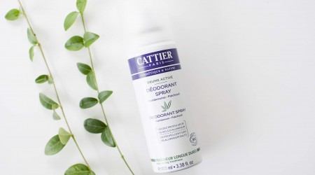review cattier paris deodorant spray