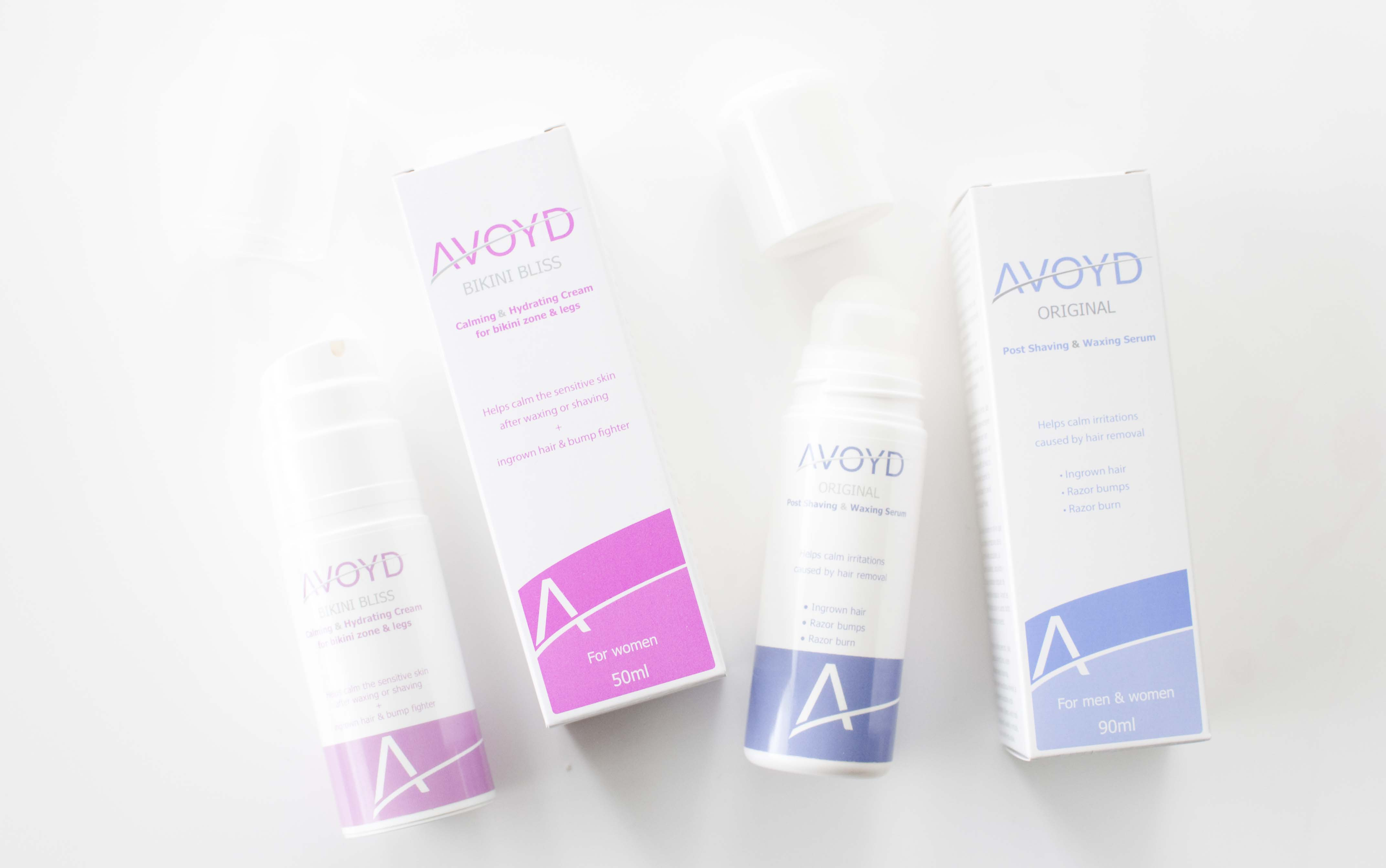 review avoyd original & bikini bliss