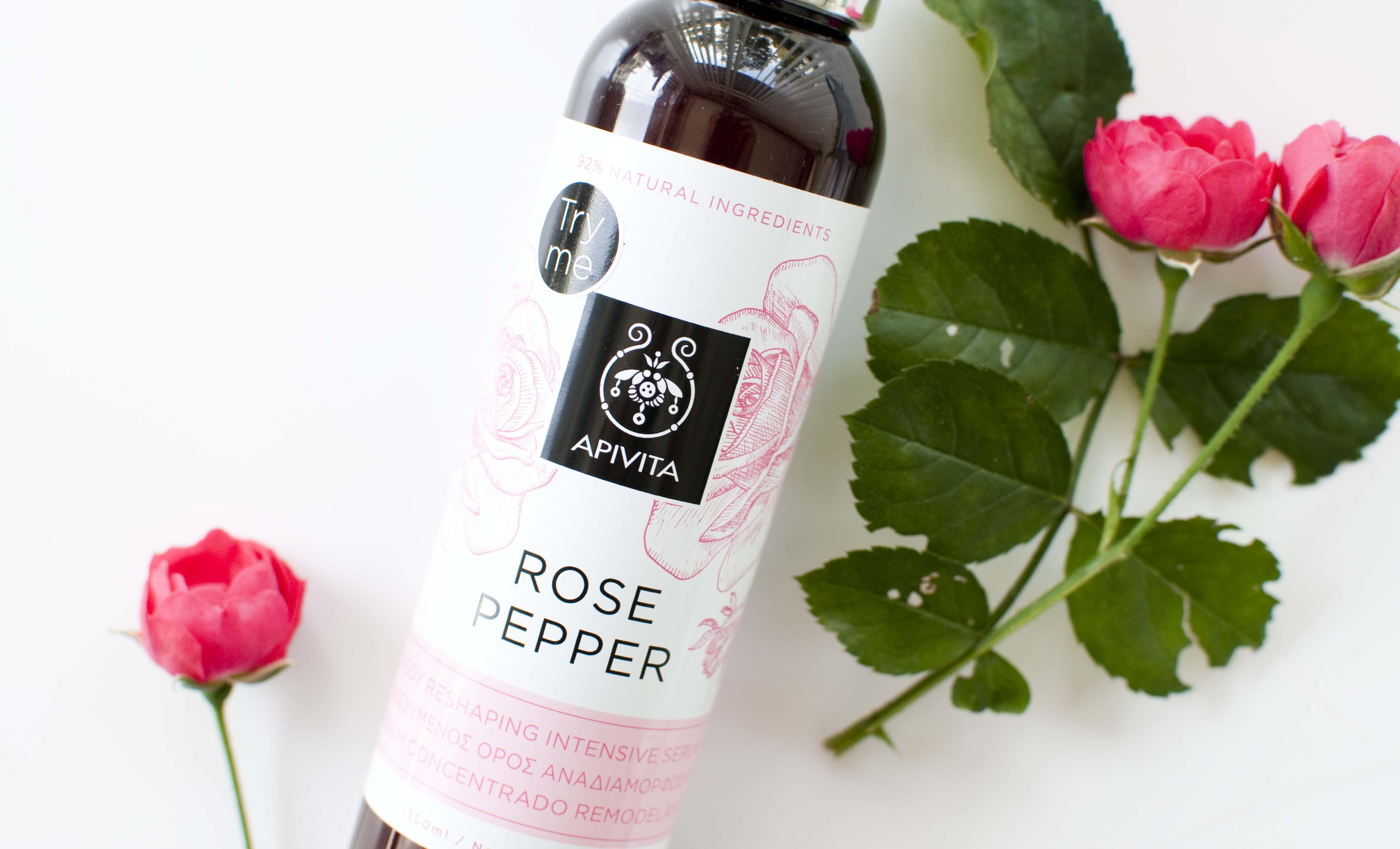 Review Apivita Rose Pepper Reshaping Serum Zolea