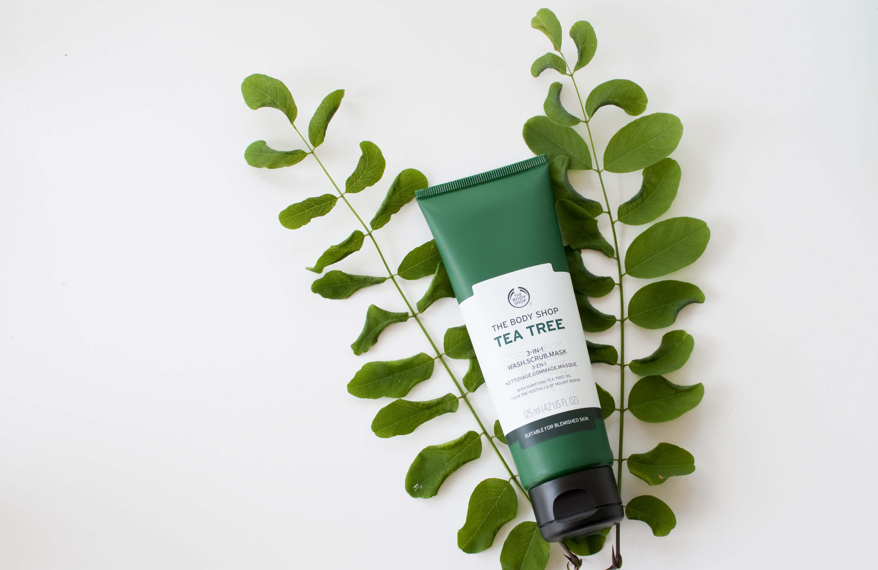 review the body shop tea tree wash scrub mask 3 in 1