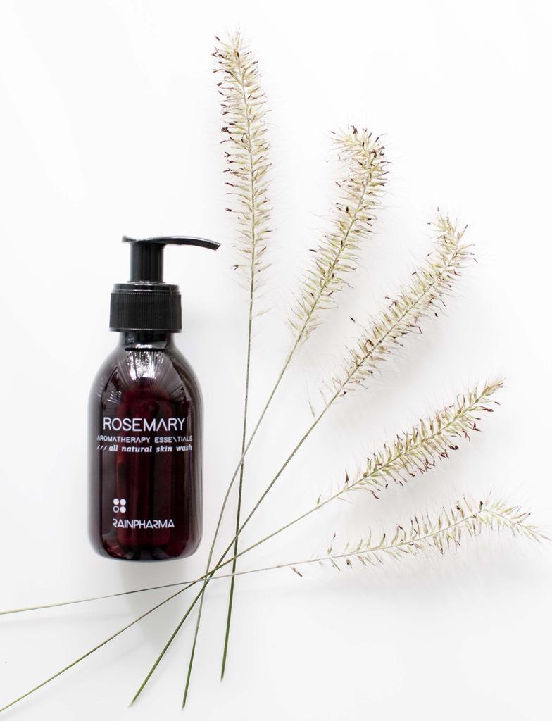 review rainpharma rosemary skin wash aromatherapy