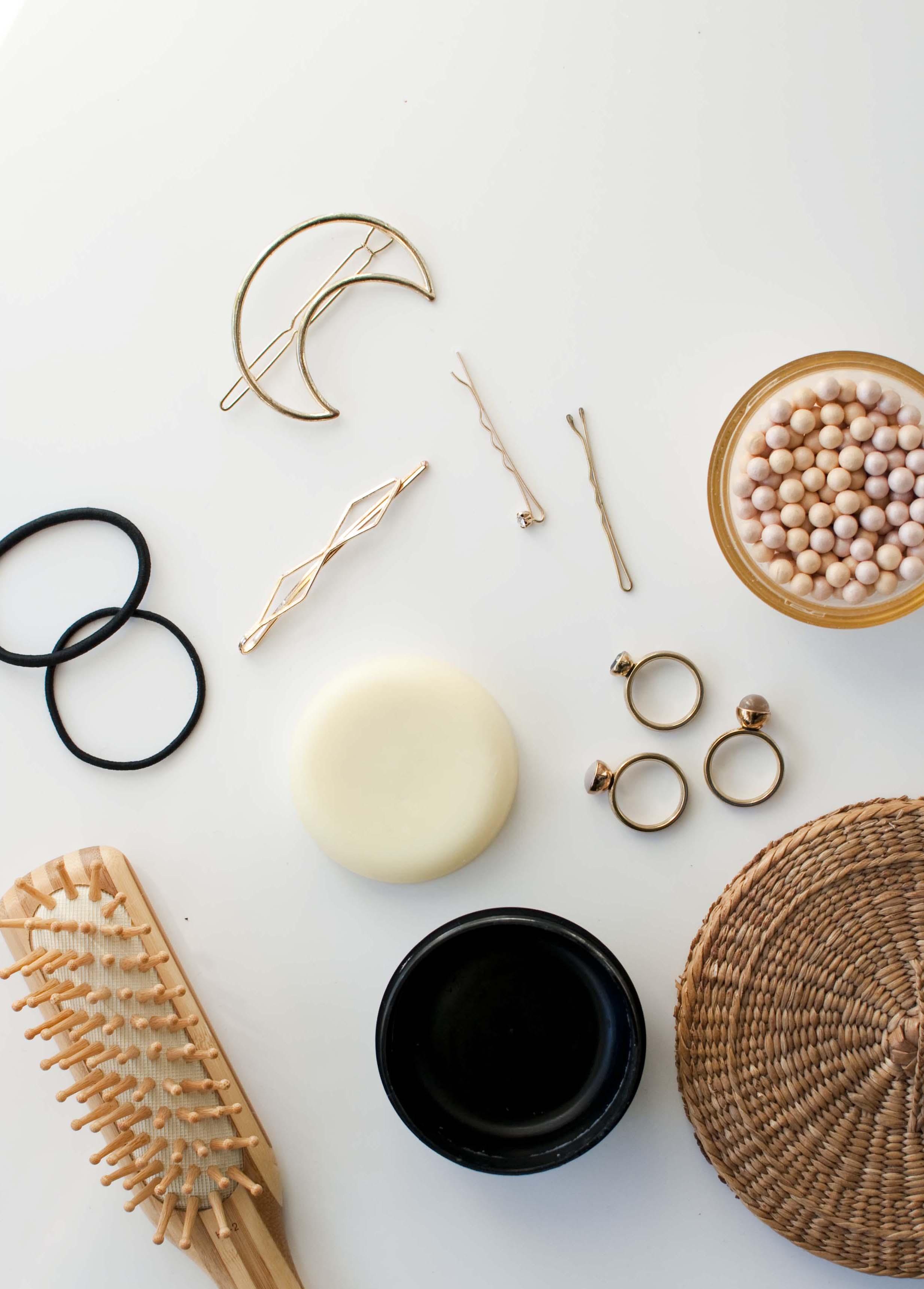 Diy solid hair oil natuurlijk zelf maken