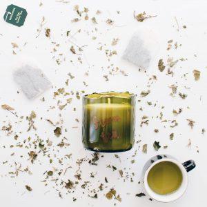 zolea geurkaars soja green tea