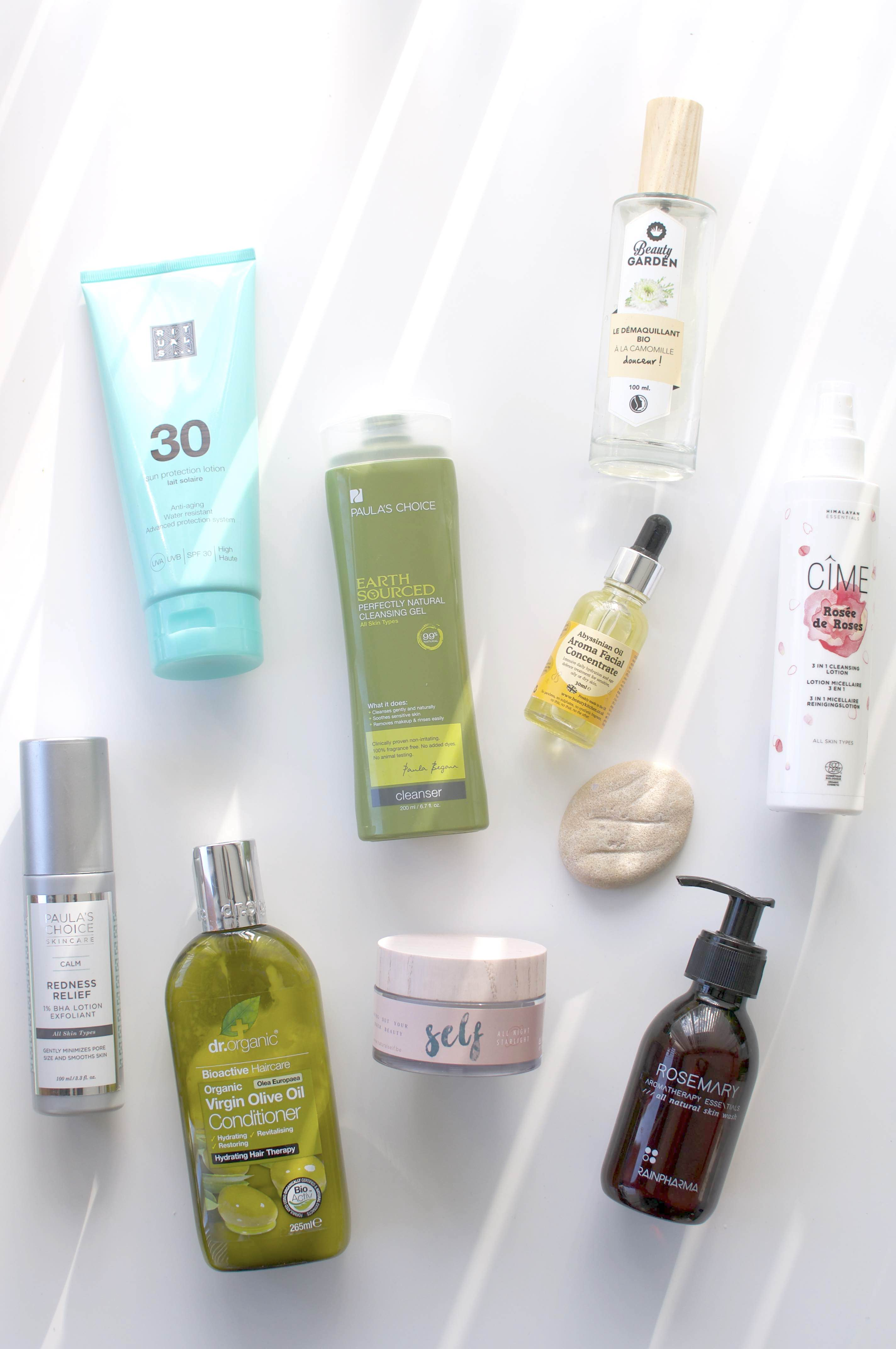 Top 10 products 2016 favorites natural beauty