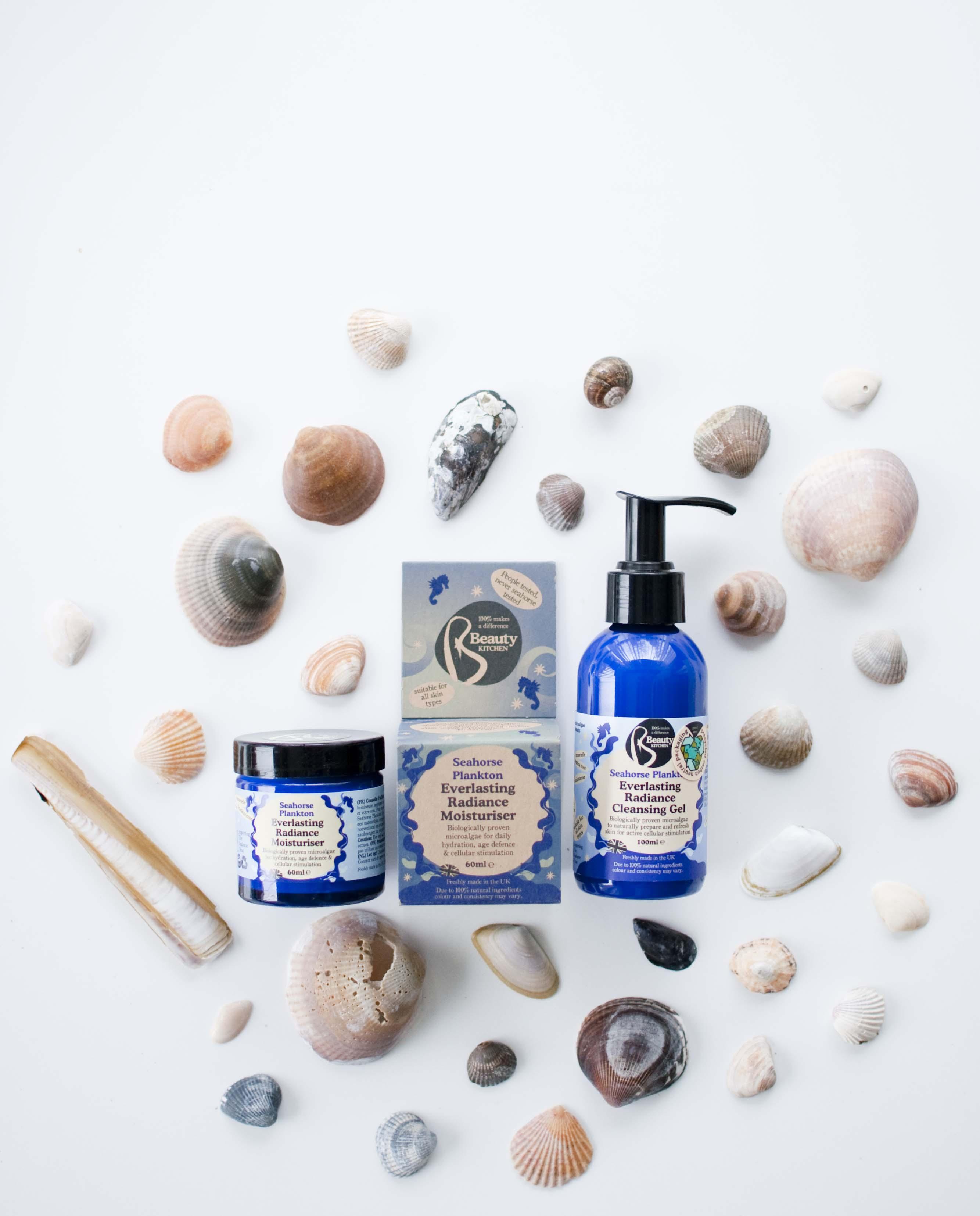 review beauty kitchen seahorse plankton cleansing moisturiser