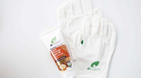 review dr organic argan hand nail balm