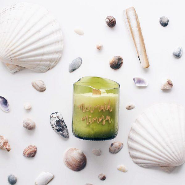 zolea scented candle geurkaars mermaid mimosa