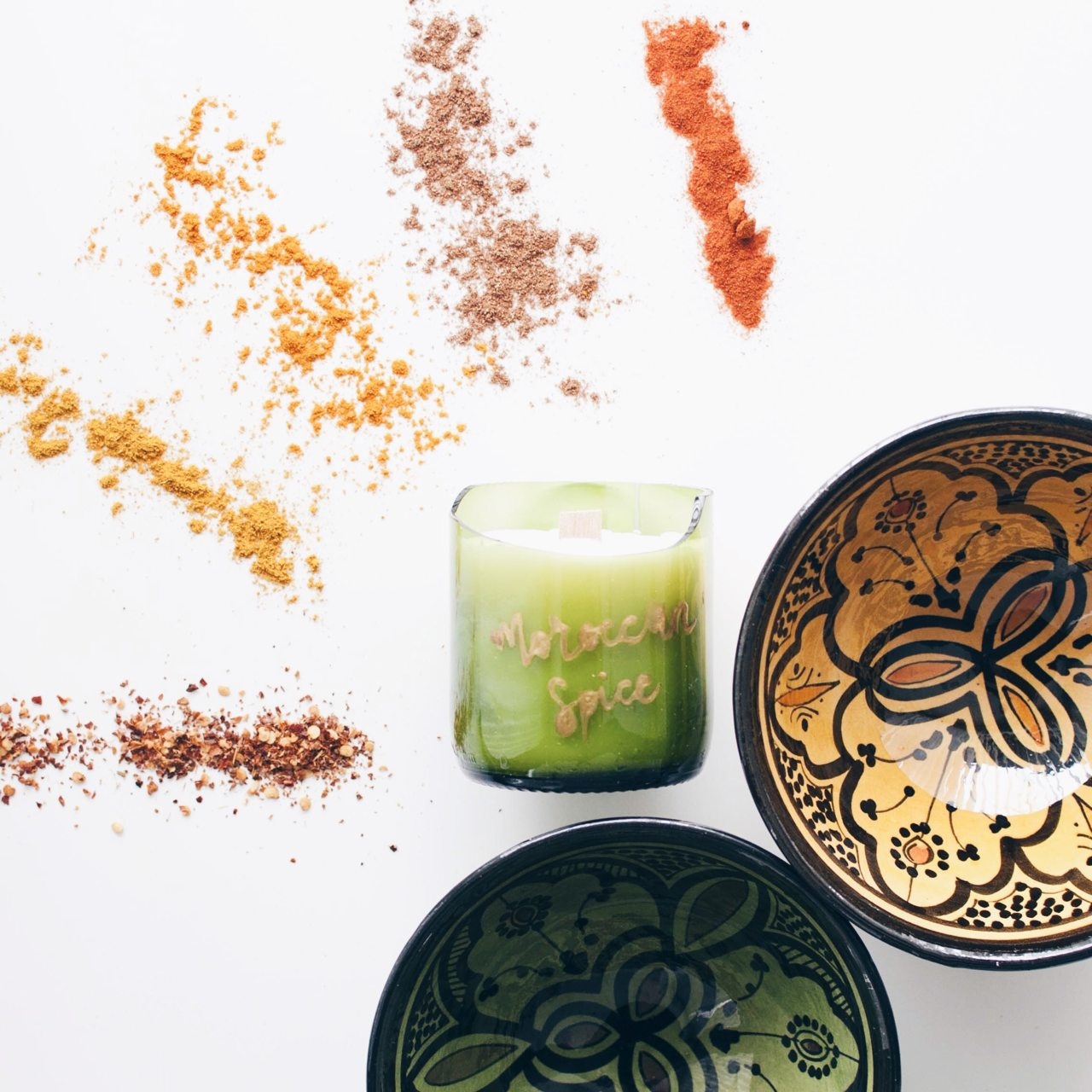 zolea scented candle moroccan spice
