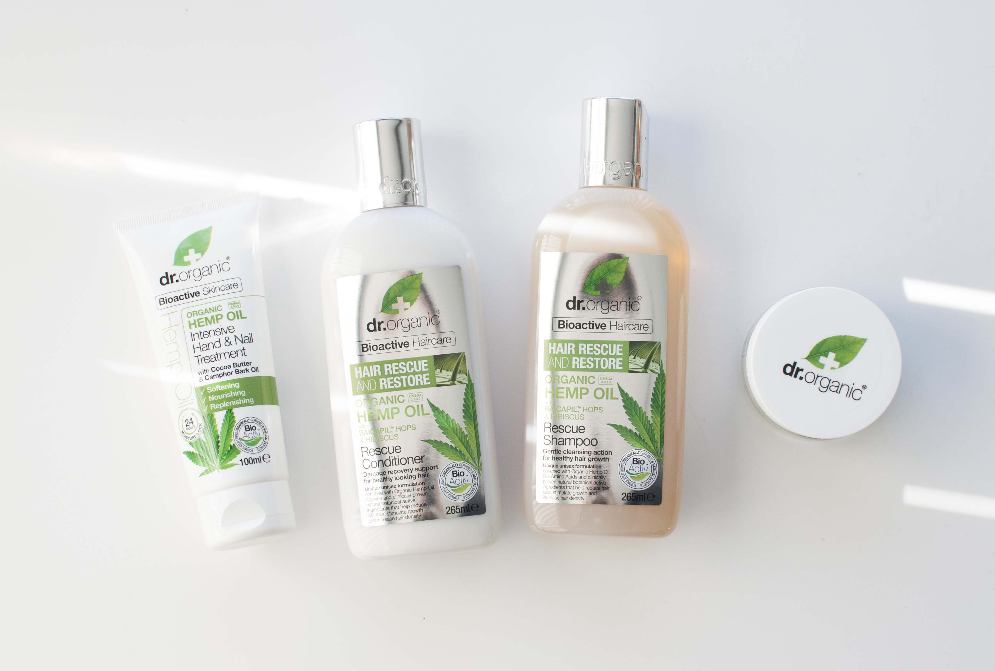 review dr organic hemp oil shampoo conditioner hand cream face cream