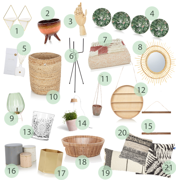 de Bijenkorf home collage wishlist