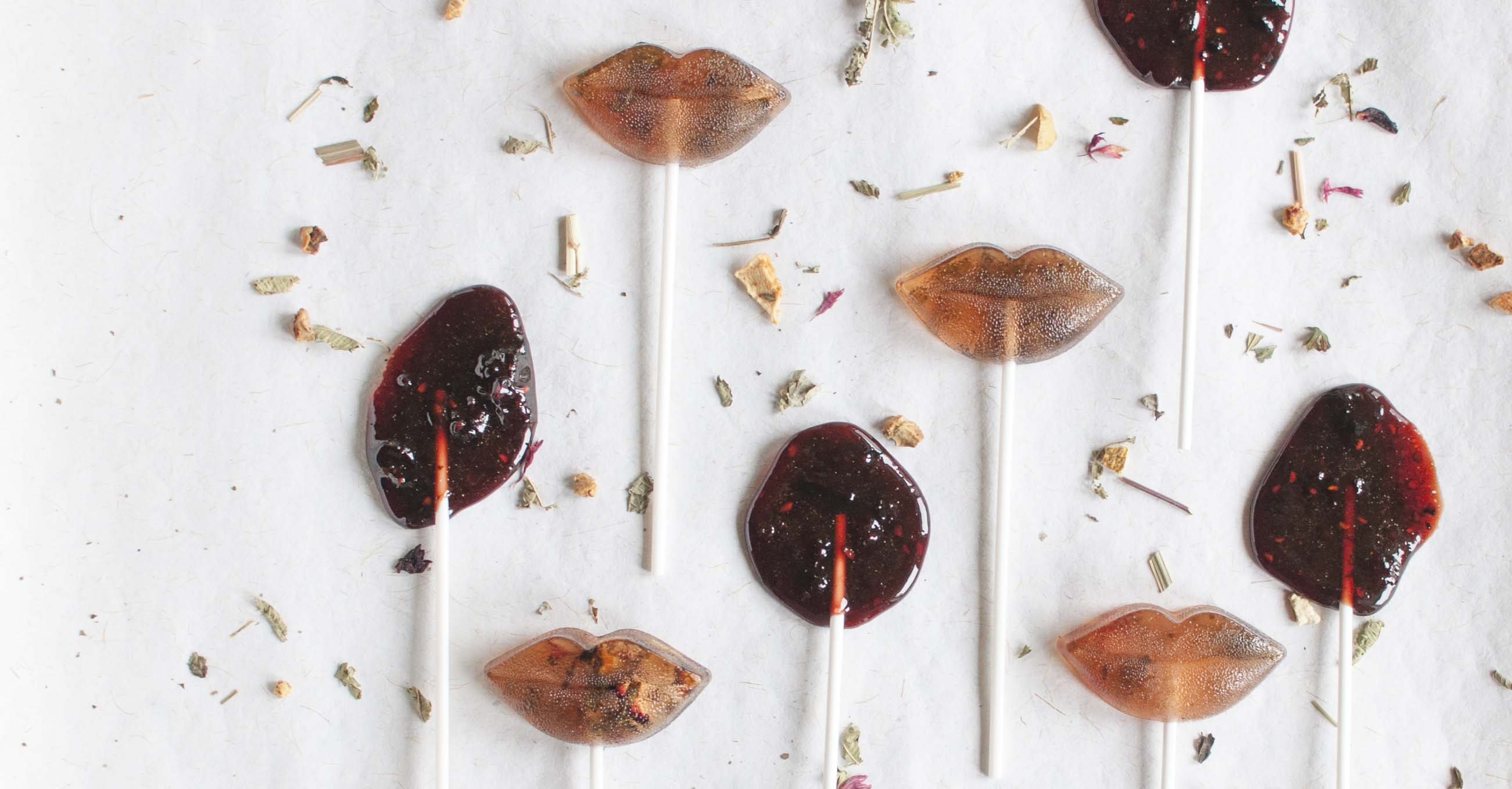diy lollipops handmade natural healthy