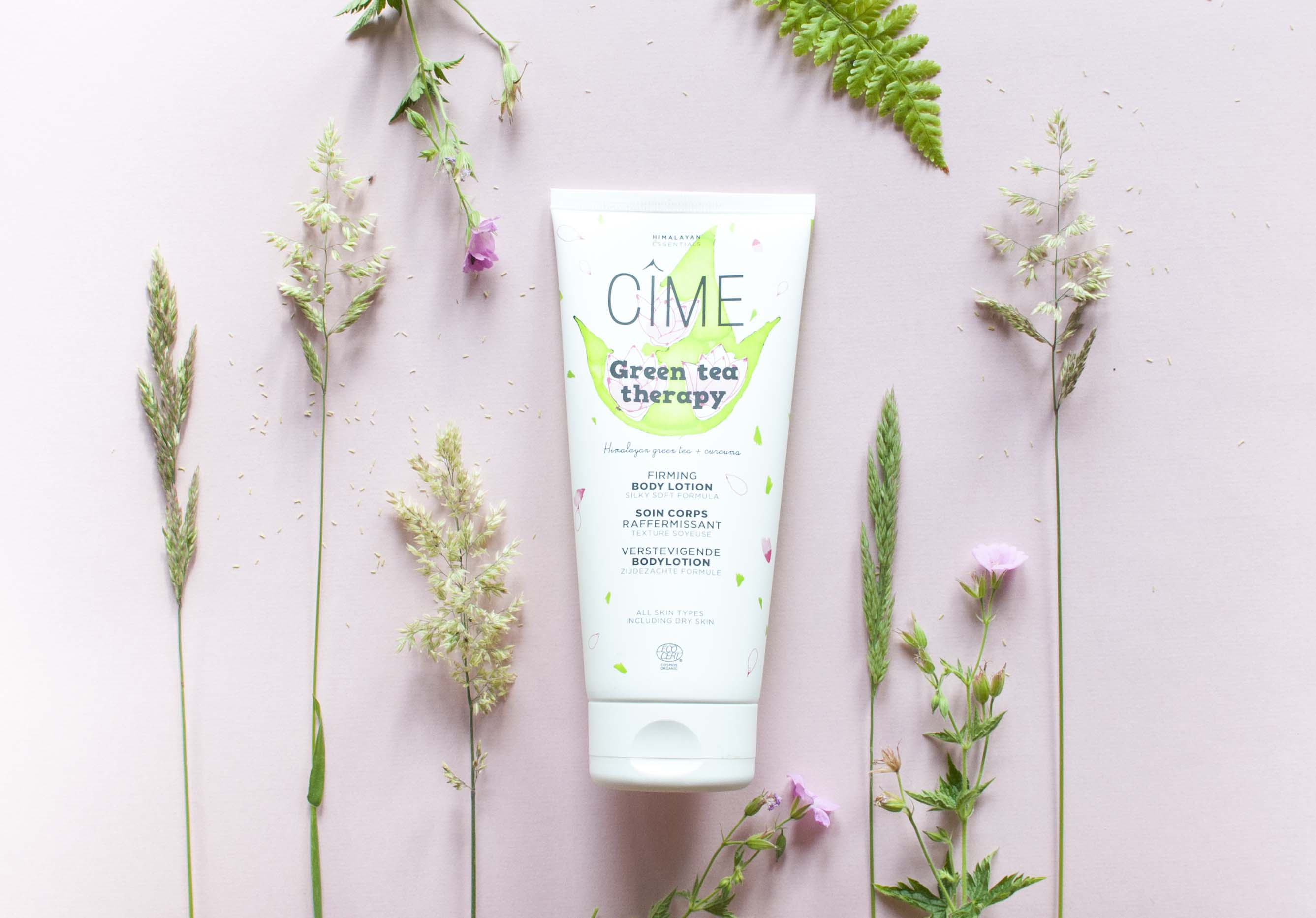 review cîme green tea therapy body lotion cime