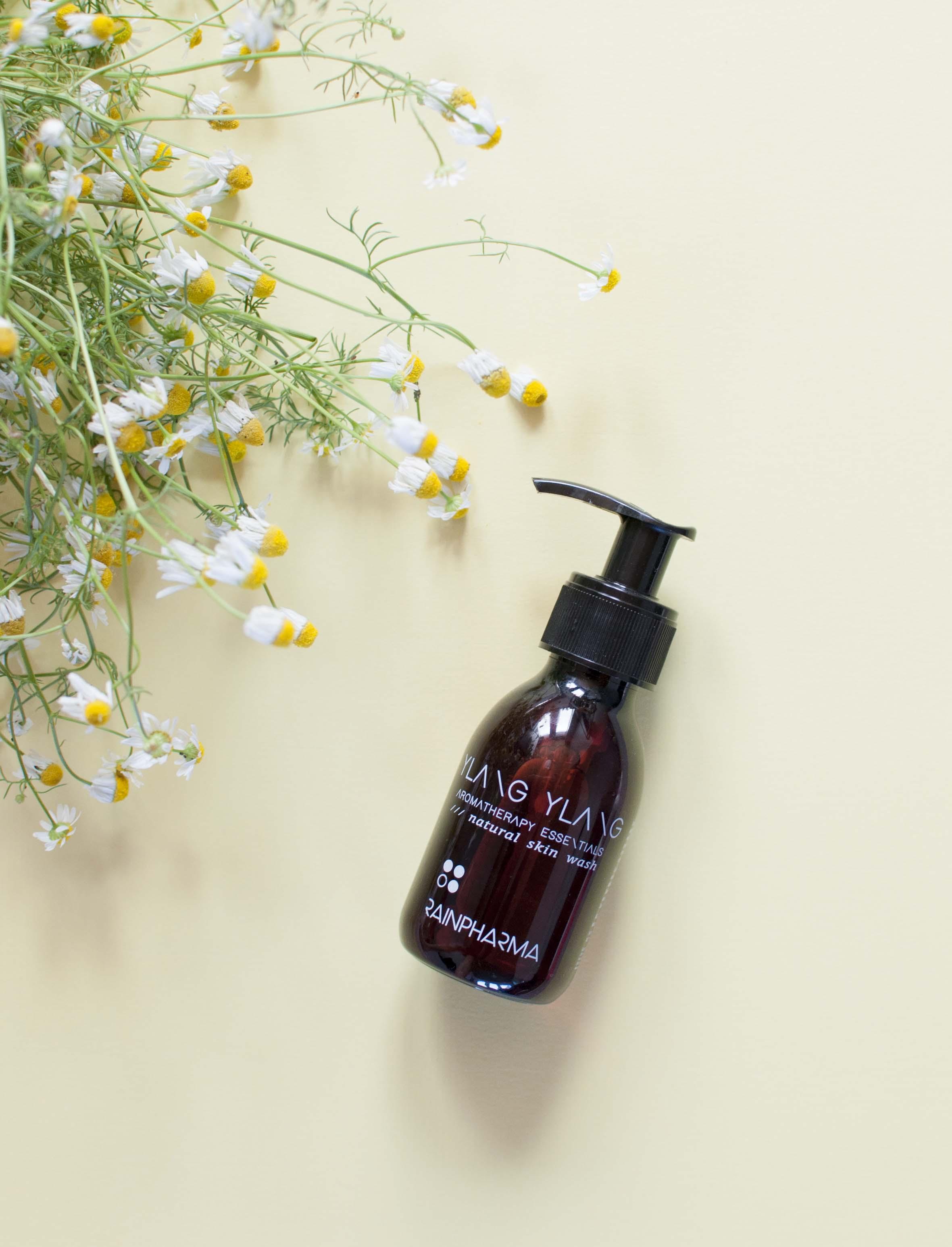 review rainpharma natural skin wash ylang ylang