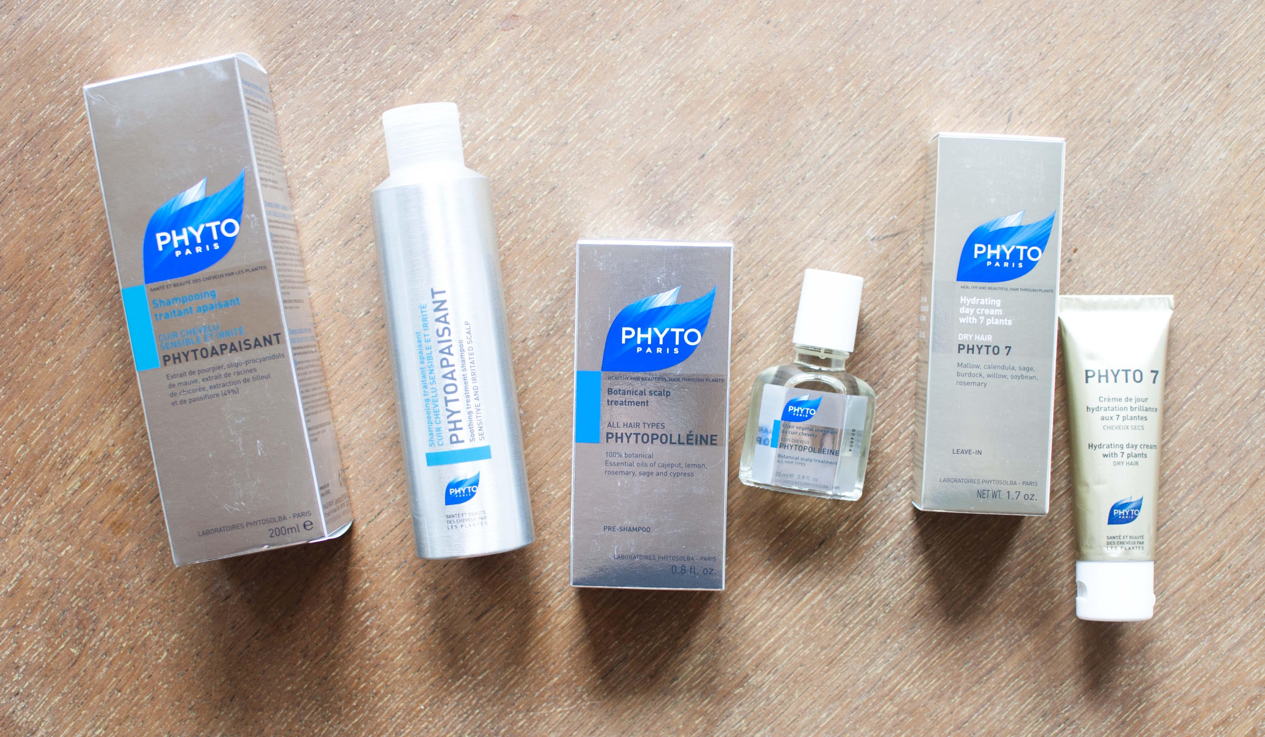review phyto paris shampoo hair treatment day cream phytopaisant
