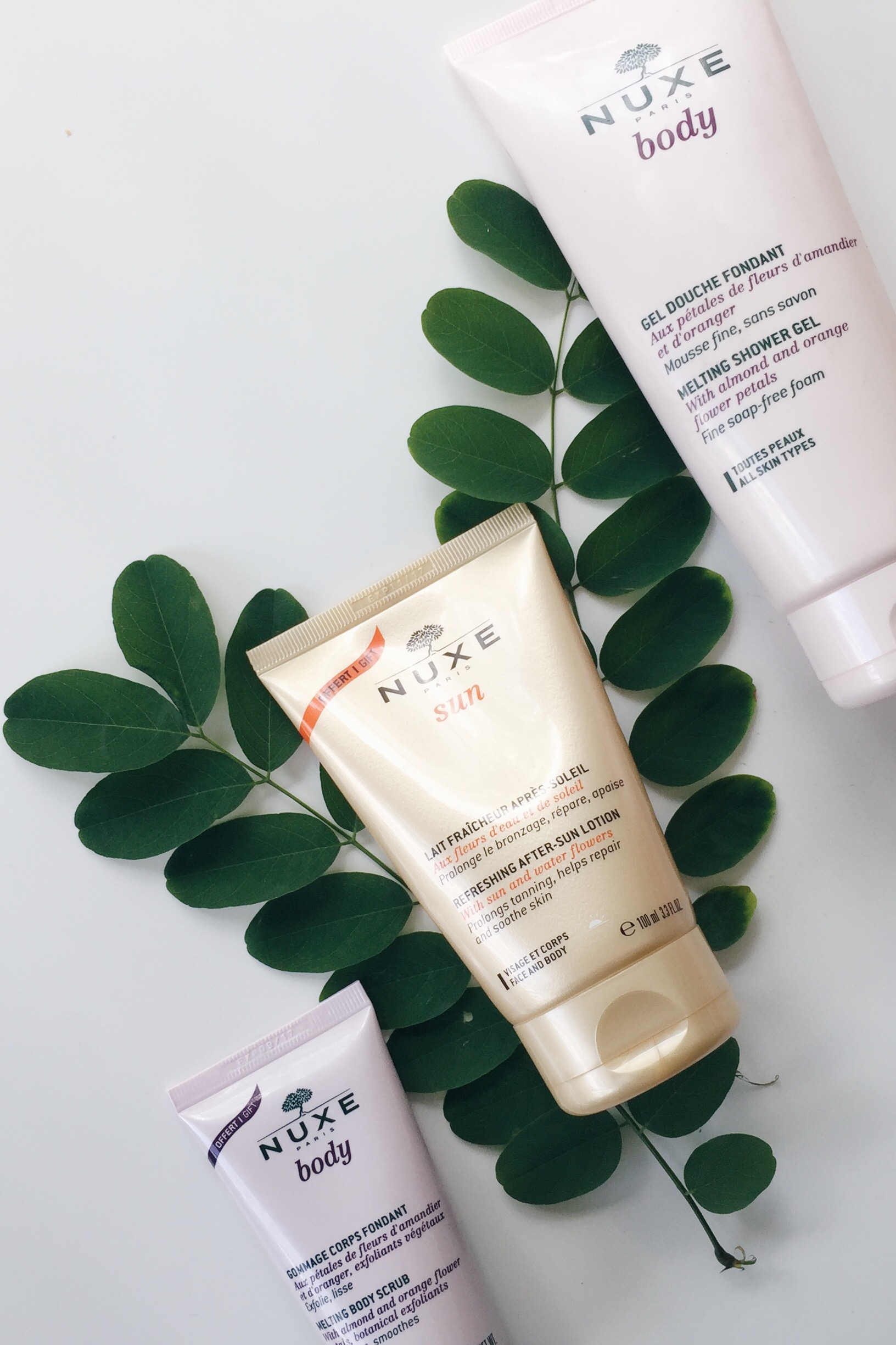 review nuxe body