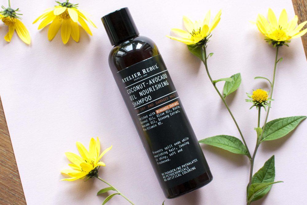 review atelier rebul coconut avocado shampoo