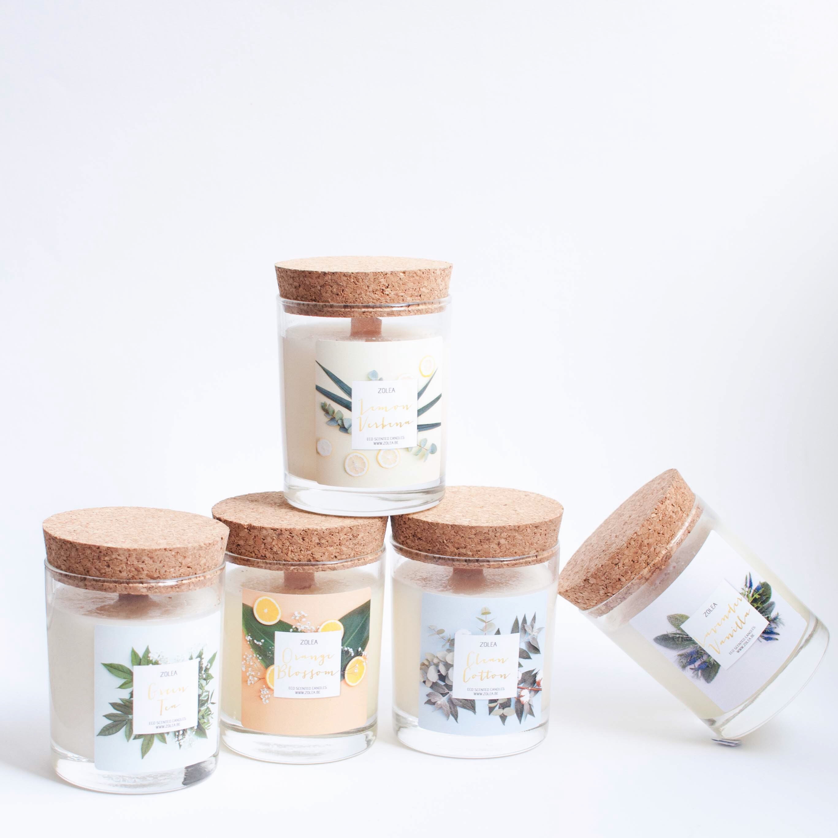 Instamonth october zolea geurkaarsen scented candles eco