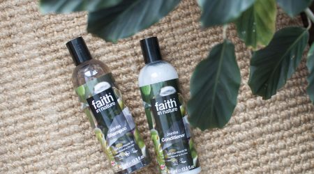 review faith in nature jojoba shampoo conditioner