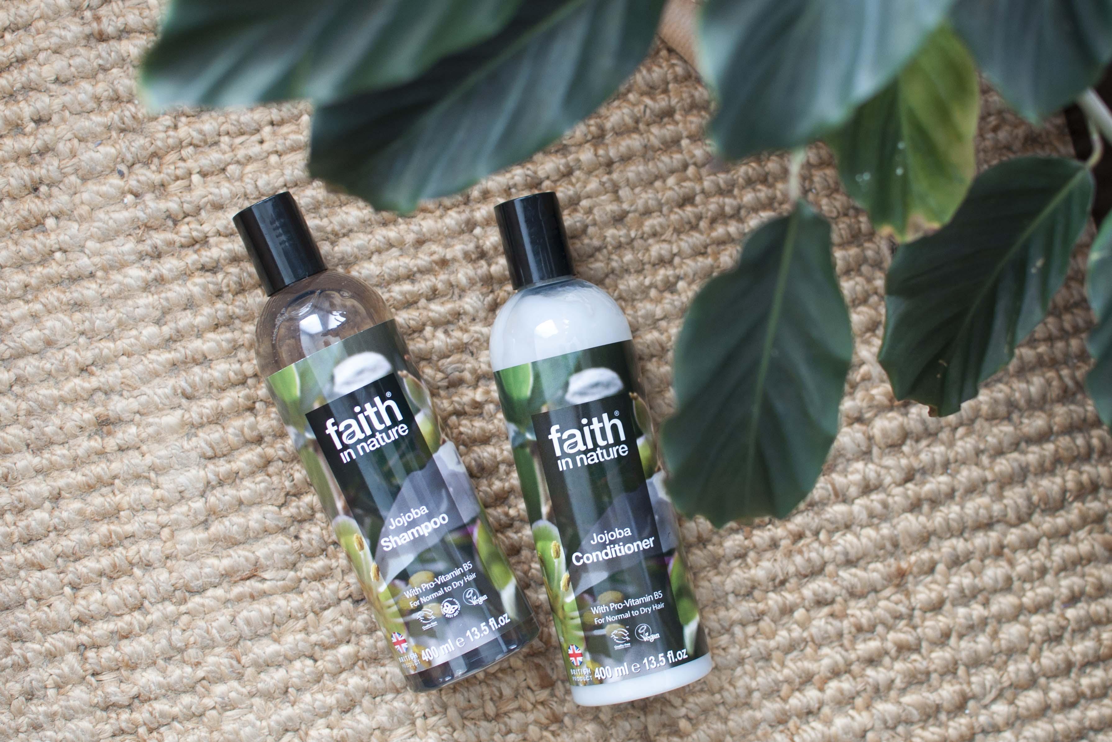 review faith in nature jojoba shampoo conditioner
