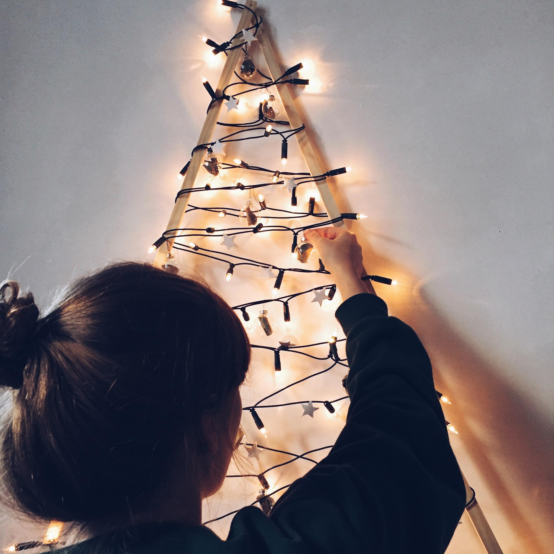 DIY kerstboom zelf maken christmas tree eco