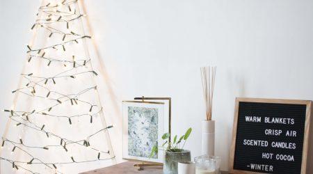 DIY sustainable christmas tree eco alternative kerstboom maken