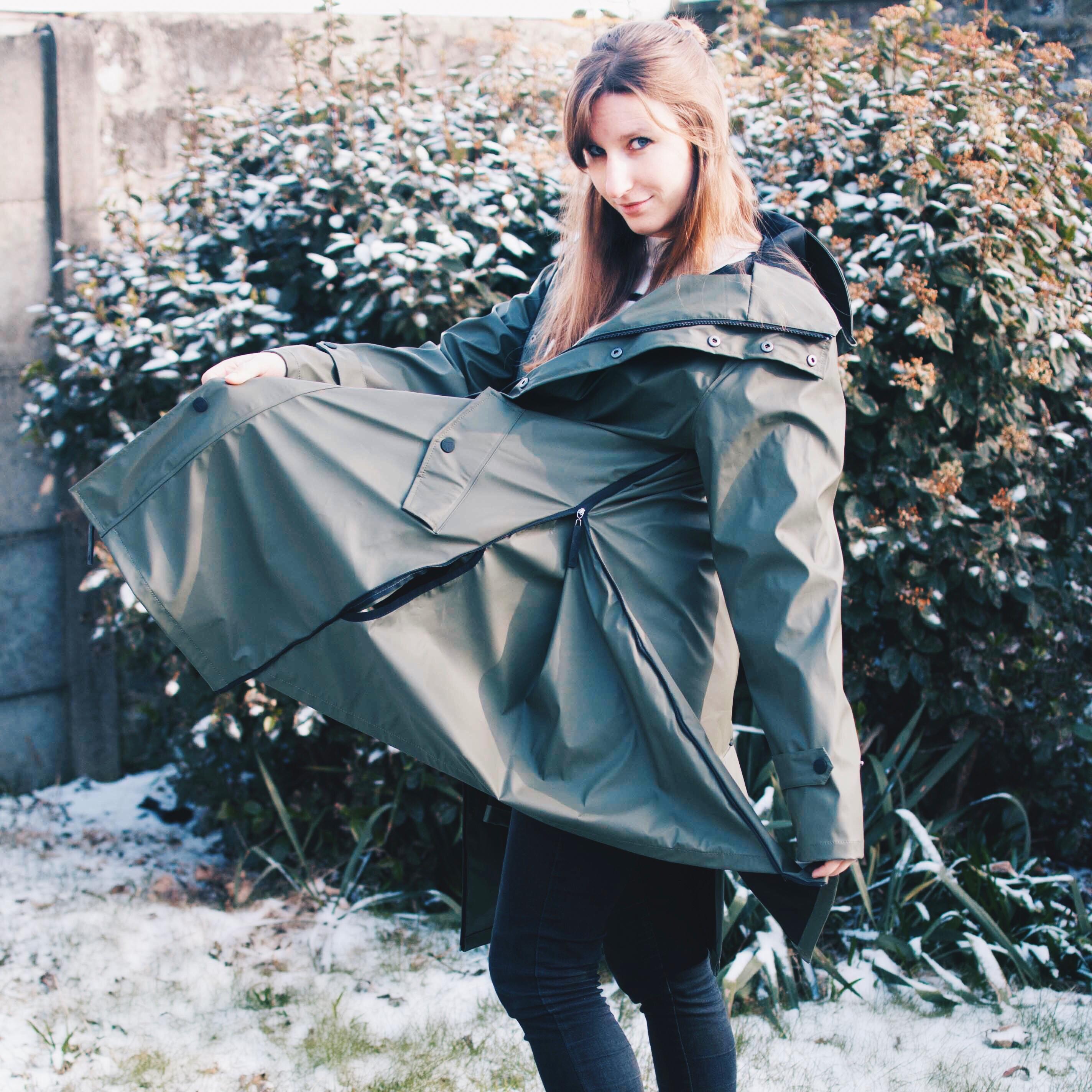fair wear maium rain coat regenjas