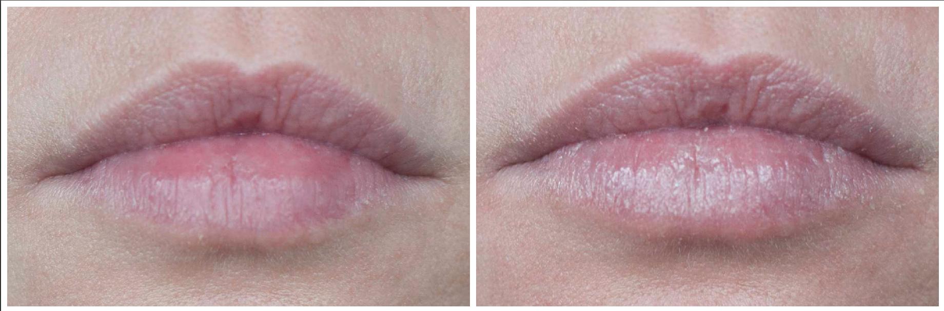 review weleda beauty balm nude colour lip balm