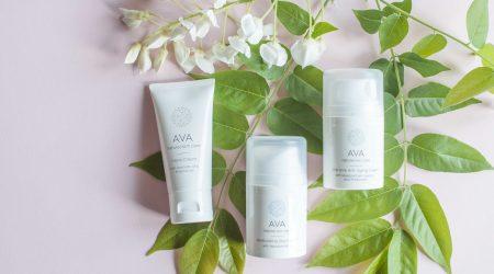 review ava natural skin care day cream hand cream