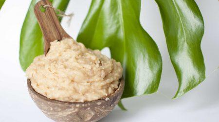 diy creamy coconut scrub