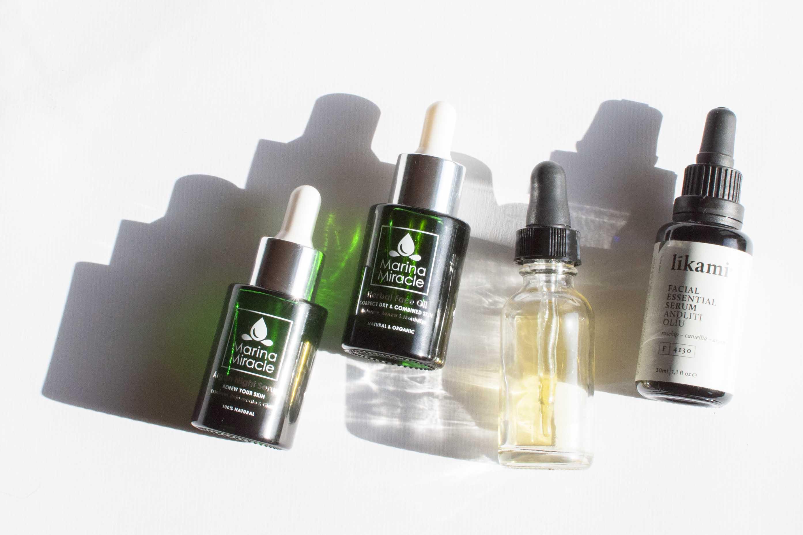 my top 5 natural face oils